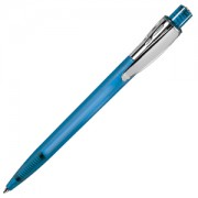 Ручка шариковая ESSE 8 FROST голубой/хром