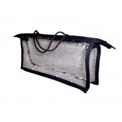 Сумочка прозрачная 24х11 см.