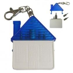 Брелок Дом с набором отверток