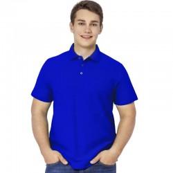 Рубашка Поло синяя