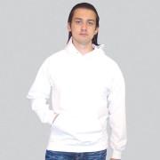Толстовка Кенгуру с капюшоном белая