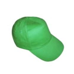 Бейсболка зеленая с металлической застежкой