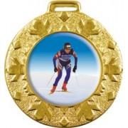 Медаль Зима 50 мм