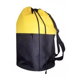 Рюкзак Торба черный + желтый