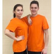 Футболка Лидер оранжевая