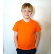 Футболка детская Лидер оранжевая